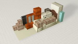 Storage Unit Size 5x12